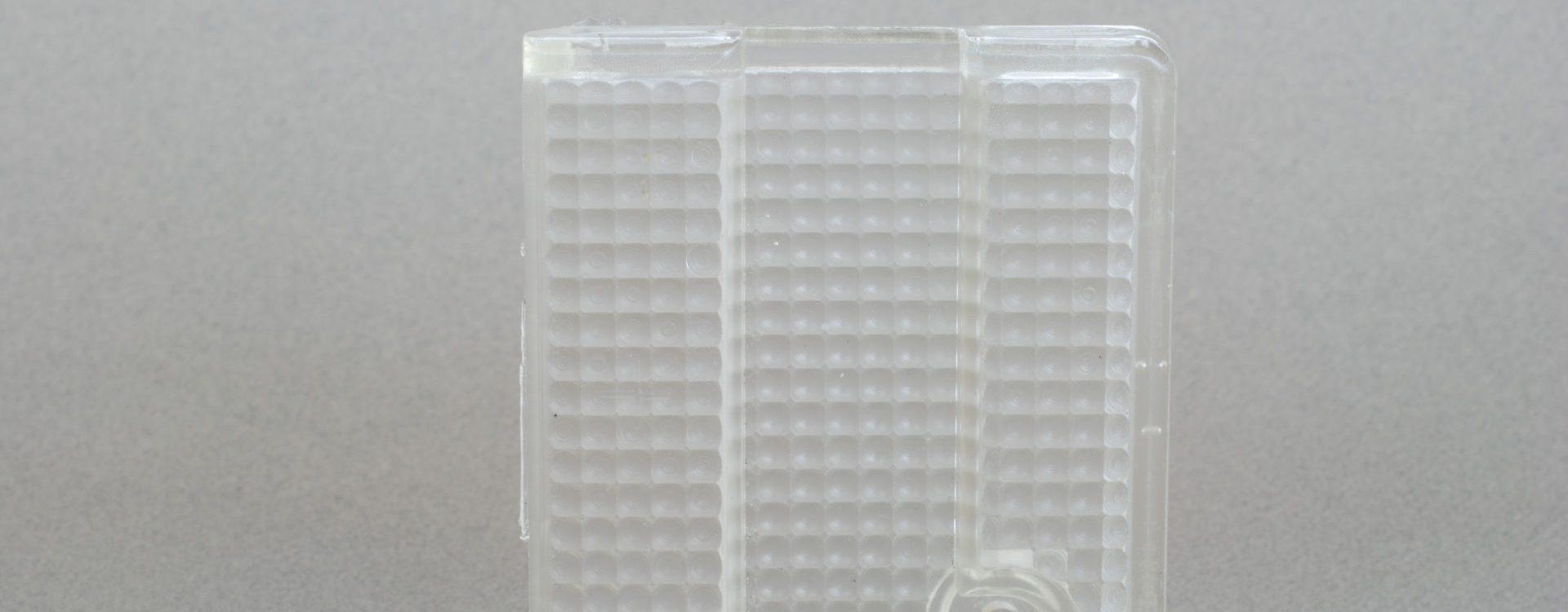 Vakuumguss mit transparenten Materialien