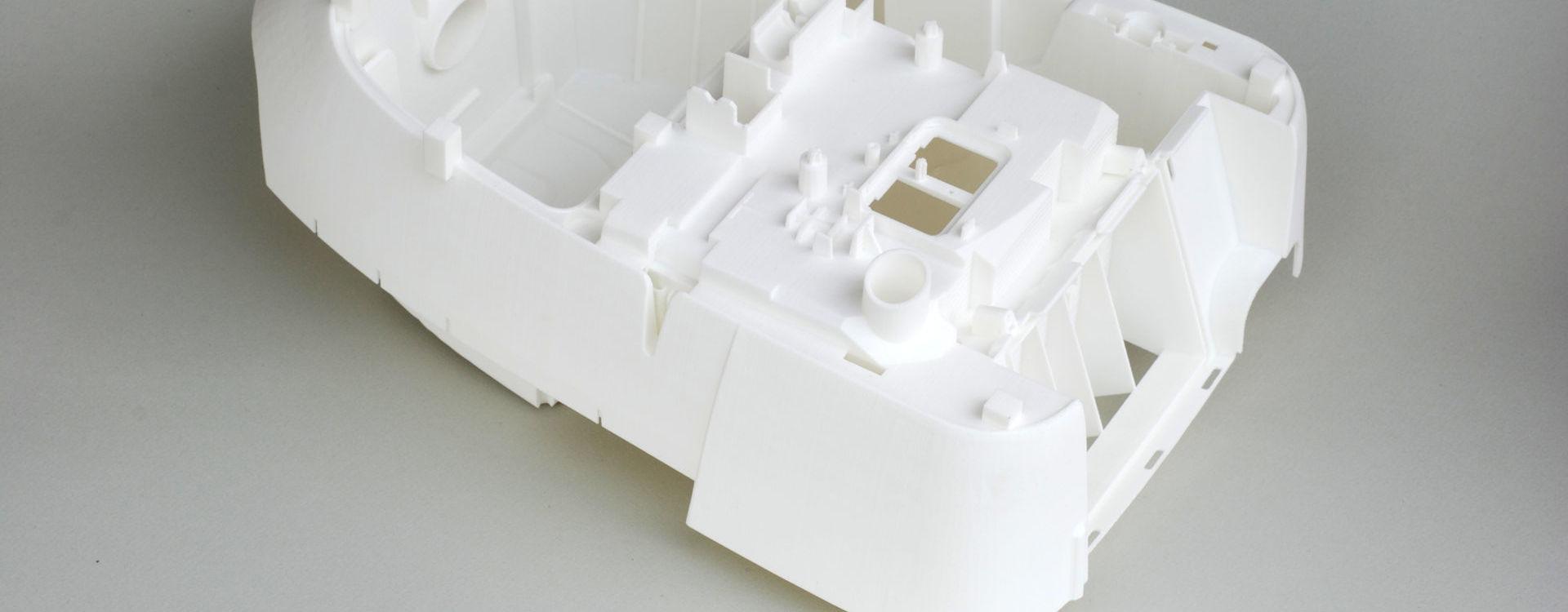 Selektives Lasersintern SLS Kleinserienproduktion Elektroindustrie